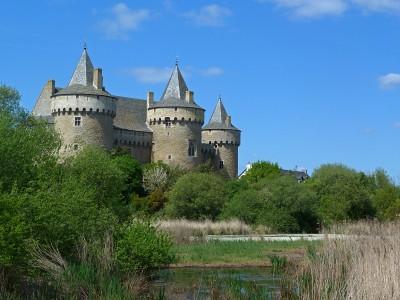 Vue sur le chateau de Suscinio.