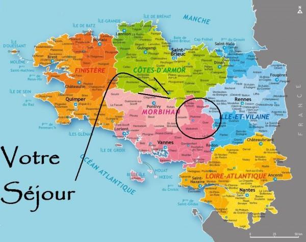 Carte Bretagne Broceliande.Circuit Foret De Broceliande Vacances Sejours Circuits