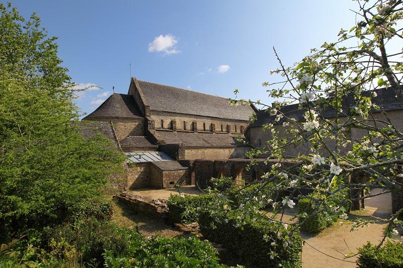 Visite de l'Abbaye de Daoulas.