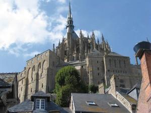 Vue de l'Abbaye du Mont-Saint-Michel.